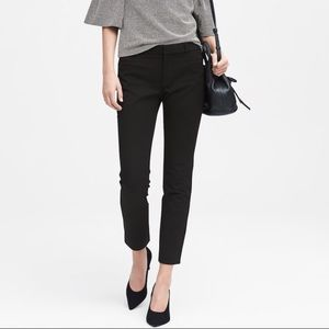 Banana Republic Sloan Skinny-Fit Solid Ankle Pant
